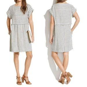 MADEWELL Striped Short Dress Sz XS